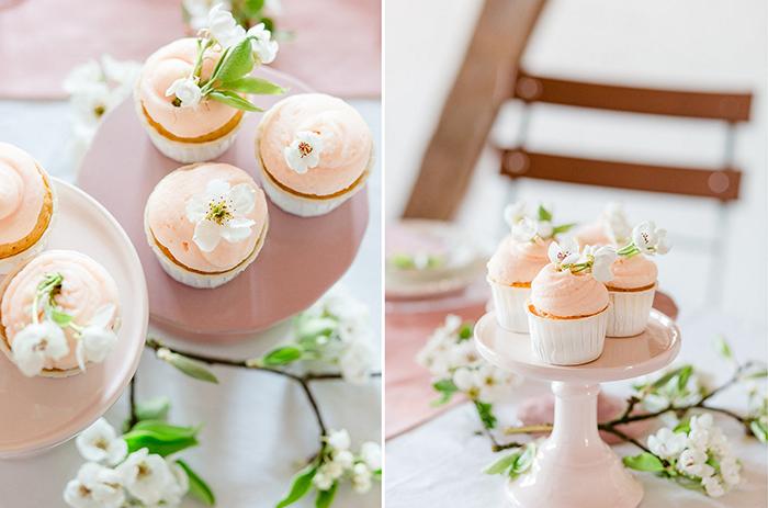 Cupcakes rosa Hochzeit