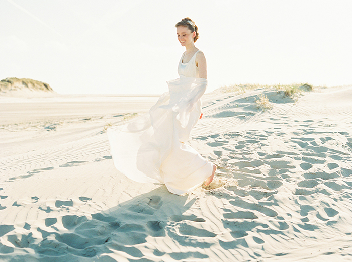 Hochzeit Strand Weiss grau(107)