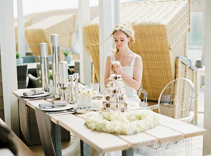 Hochzeit Strand Weiss grau(57)