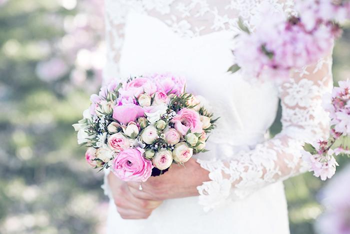 Hochzeit rosa Kirschblueten (1)