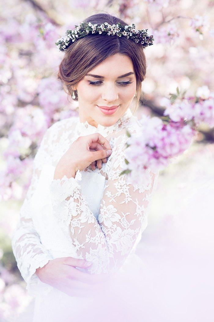 Hochzeit rosa Kirschblueten (44)
