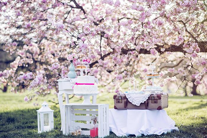 Hochzeit rosa Kirschblueten (9)