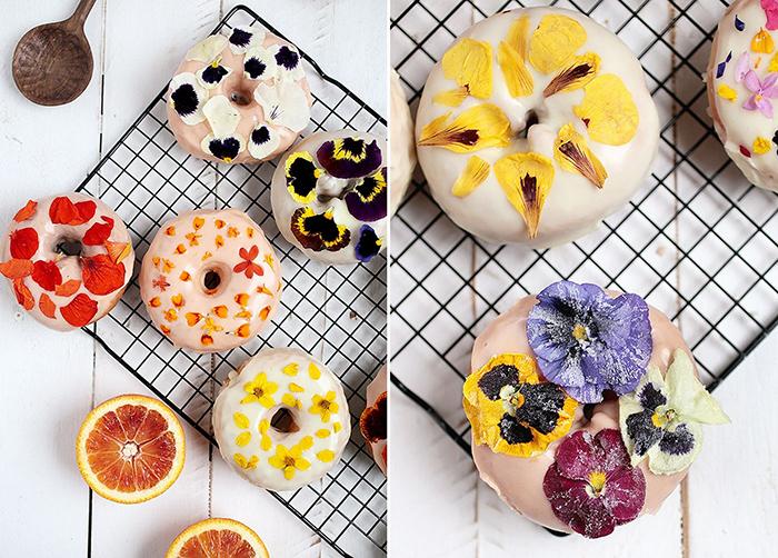 donut blumen hochzeit
