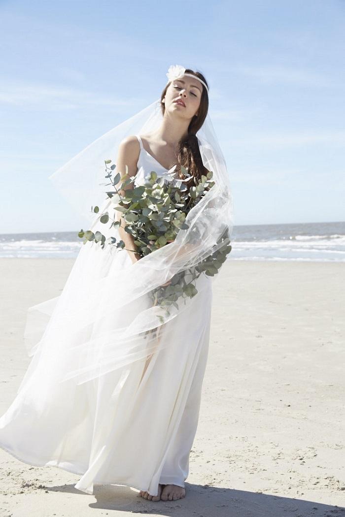 Langer Schleier Braut (3)
