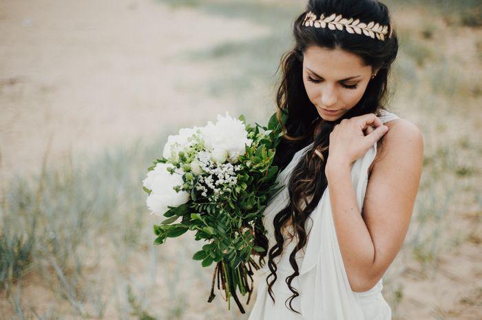Idee für eine griechische Hochzeitsdeko | Friedatheres.com