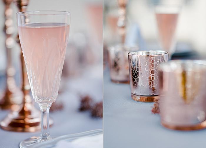 Hochzeitsinspiration in kupfer for Hochzeitsdeko gold