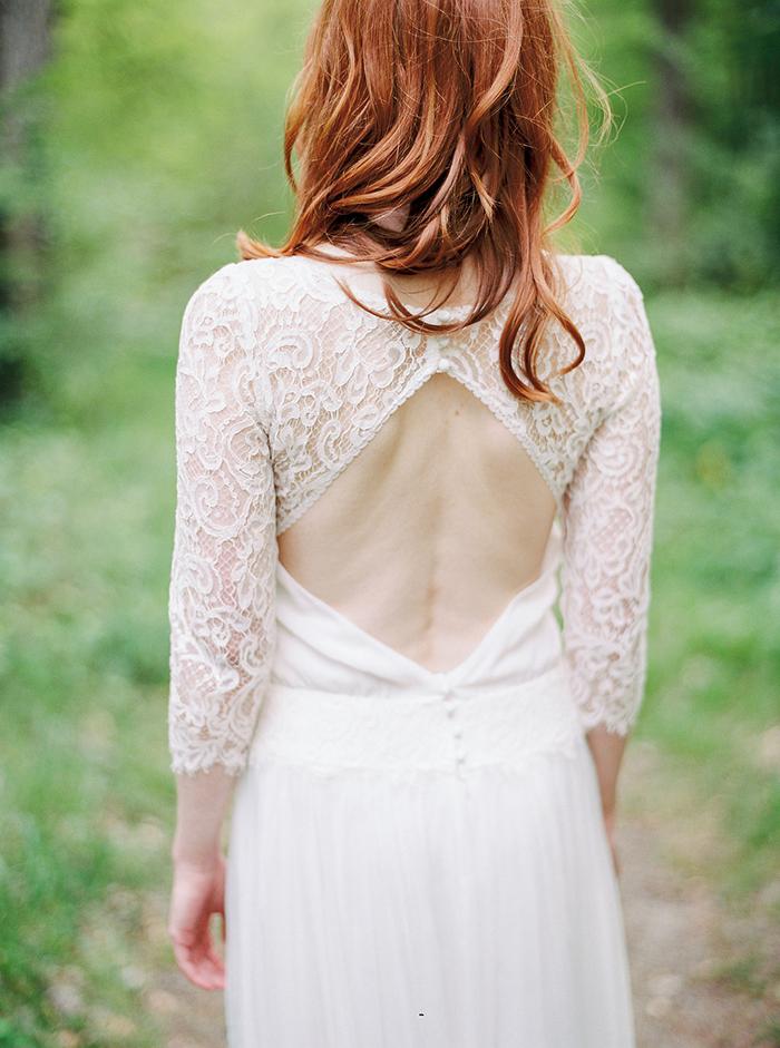 Brautkleid mit Spitze (16)