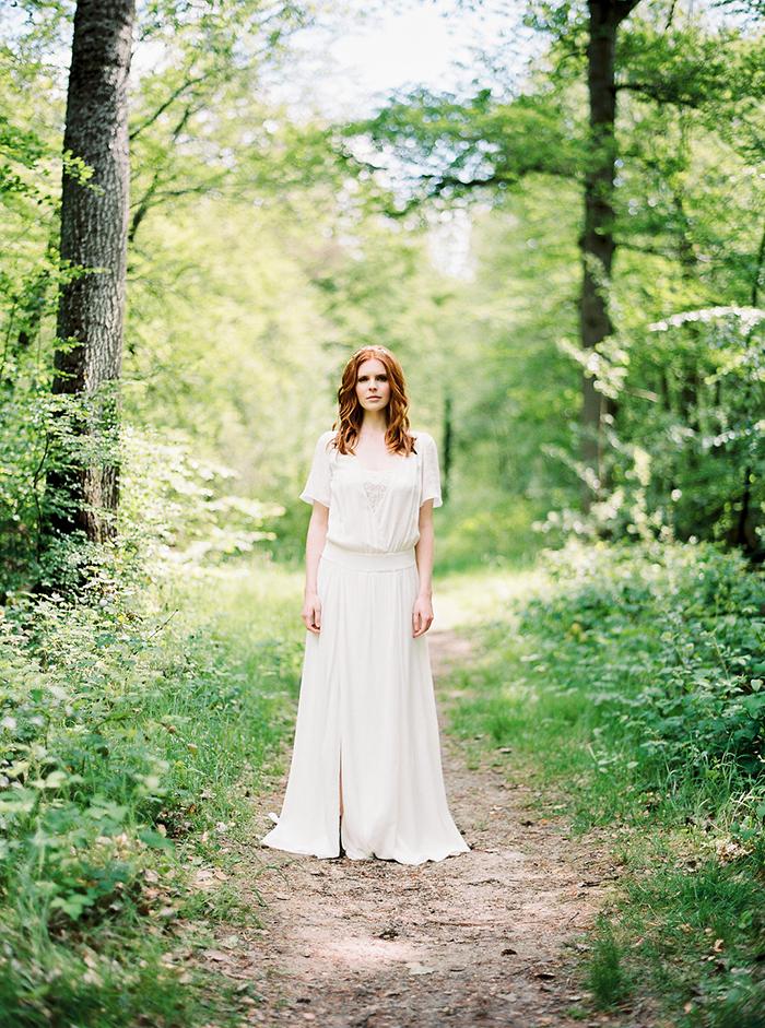 Brautkleid mit Spitze (17)
