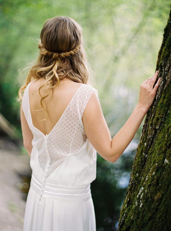 Brautkleid mit Spitze (3)