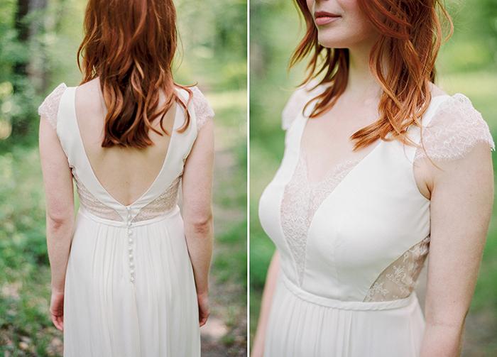 Brautkleid mit Spitze (7)