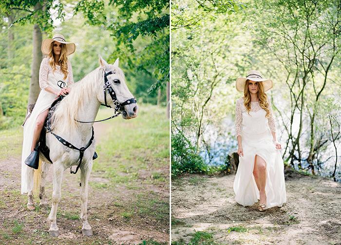 Brautkleid mit Spitze (8)