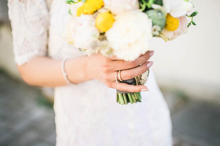 Brautstrauss gelb (1)