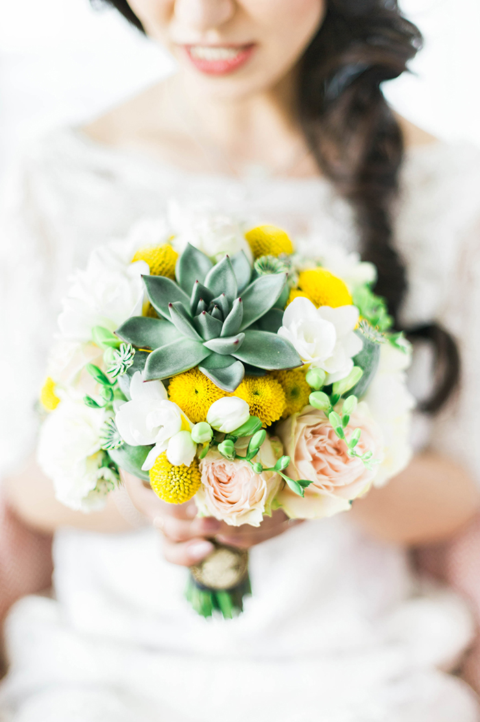 Brautstrauss gelb (2)
