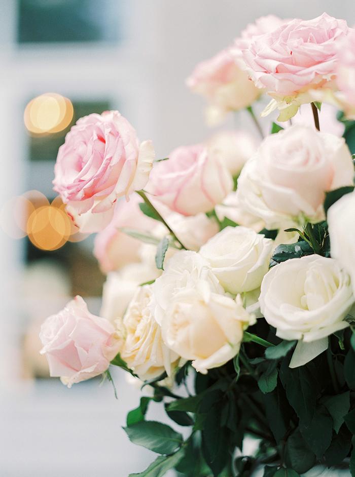 Hochzeit weisse rosen