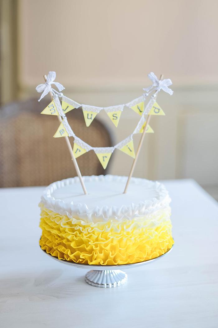 Hochzeitstorte gelb (1)