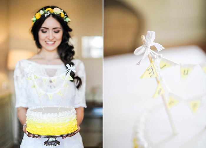 Hochzeitstorte gelb (2)
