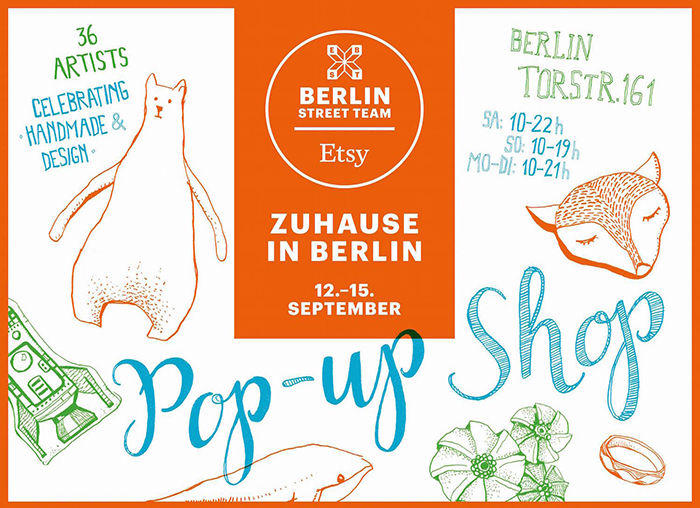 etsy pop up shop