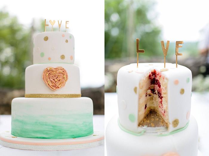 Hochzeit Moderne Hochzeitstorten Pictures to pin on Pinterest