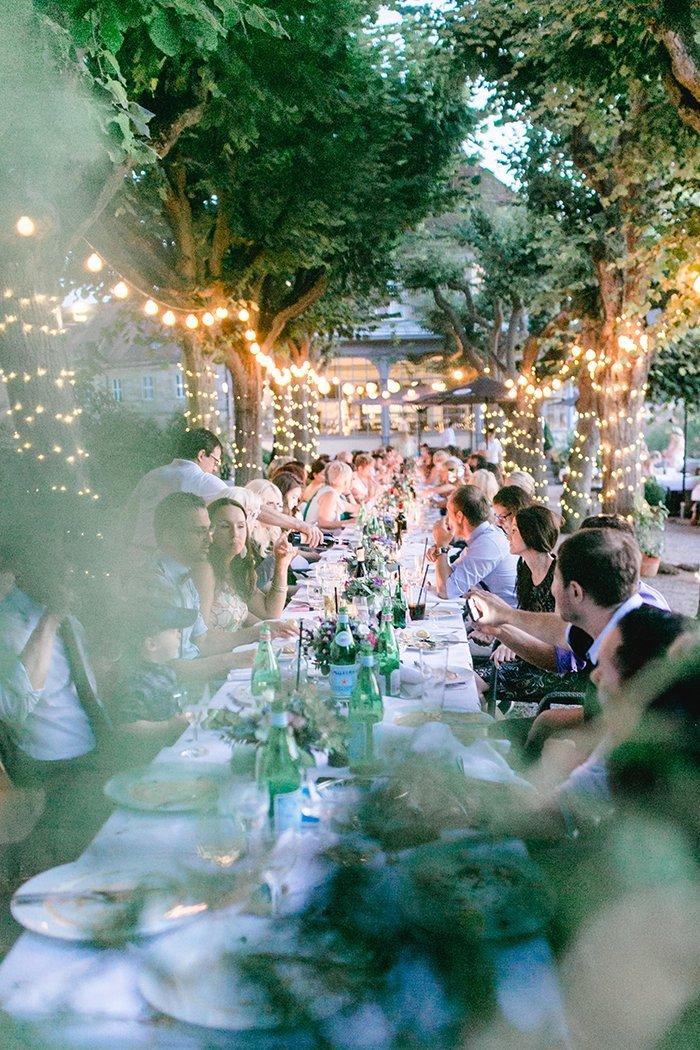 Lichterketten Hochzeit (2)