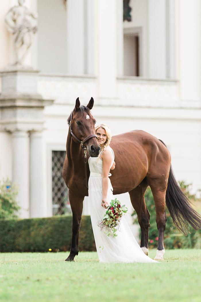 Braut mit Pferd (12)