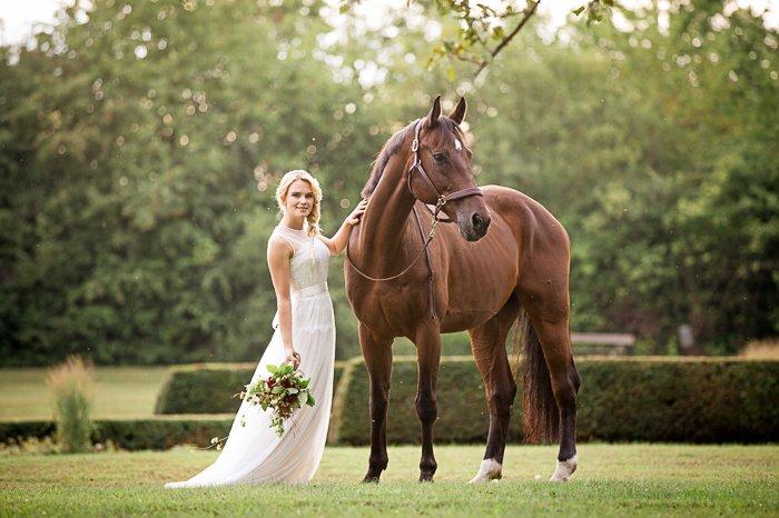 Braut mit Pferd (14)