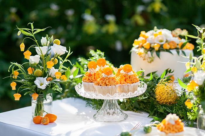 Hochzeitsdeko Orange (1)