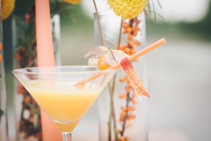 Hochzeitsdeko Orange (10)
