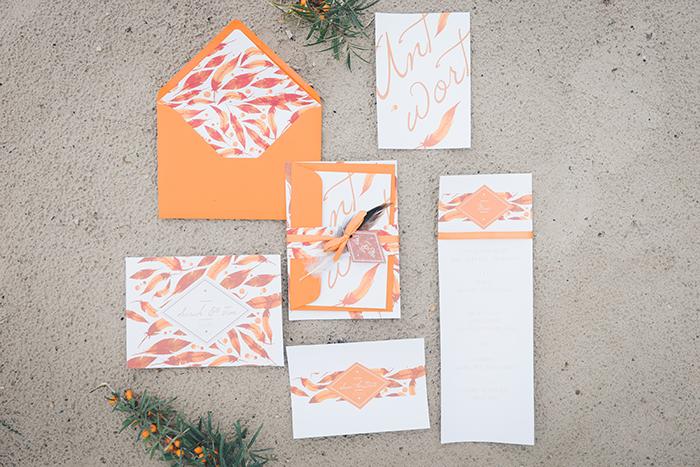 Hochzeitsdeko Orange (3)