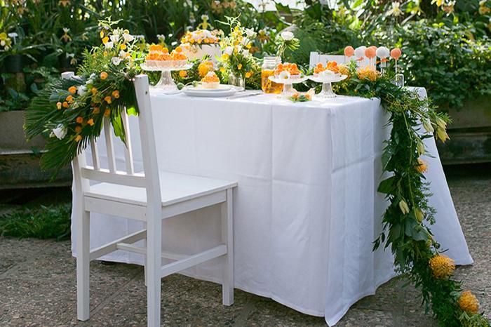 Hochzeitsdeko Orange (70)