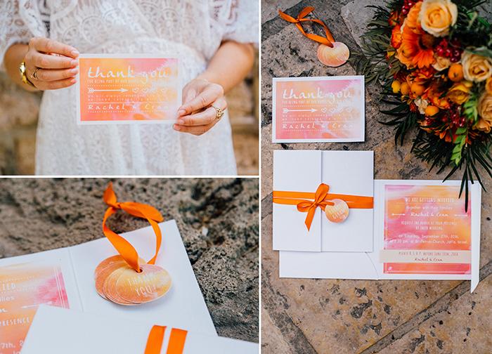 Hochzeitseinladungen Orange (1)