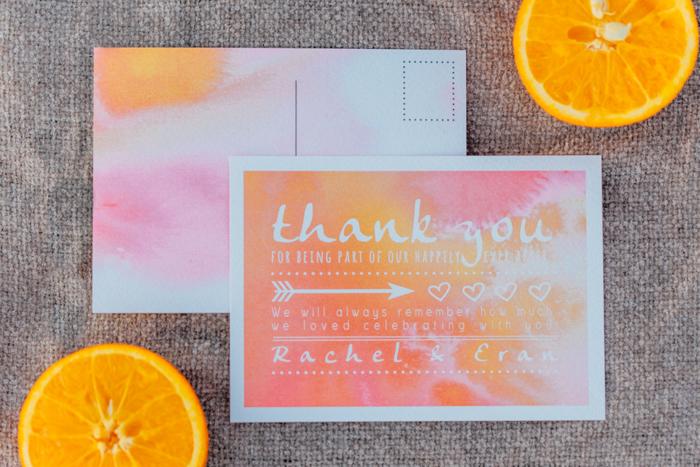 Hochzeitseinladungen Orange (5)