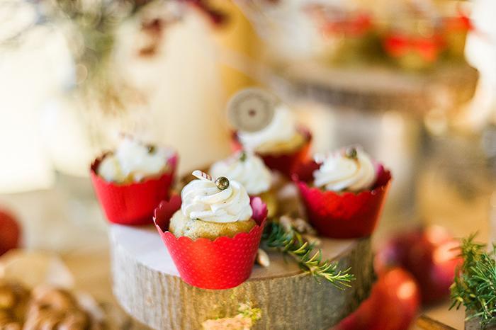 Cupcakes Winterhochzeit