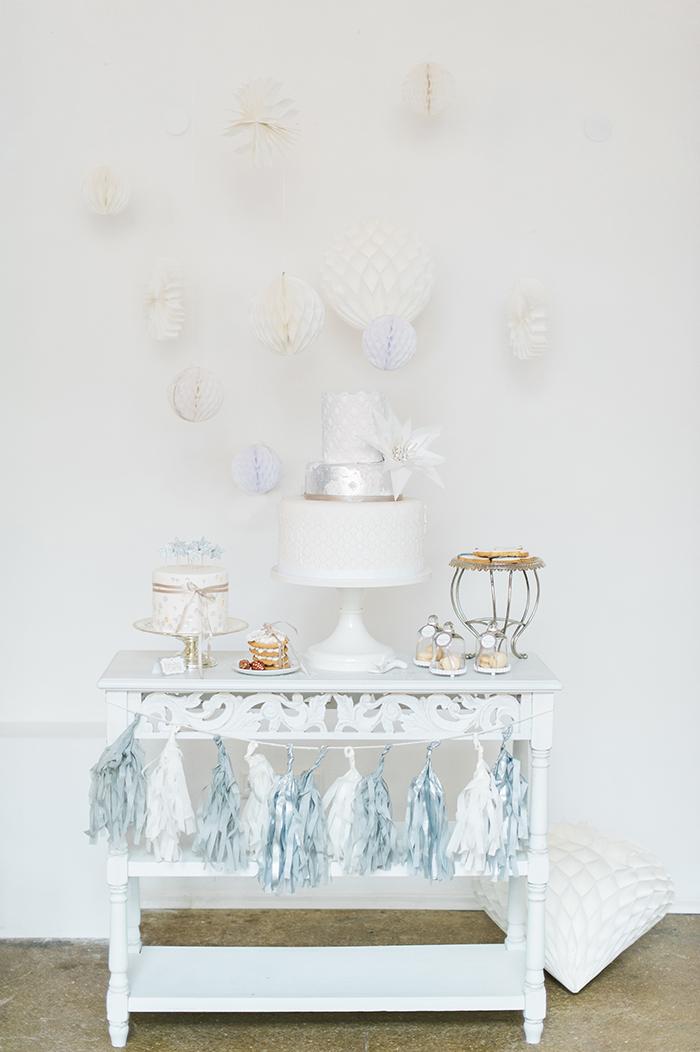 Hochzeitstorte Winterhochzeit (1)