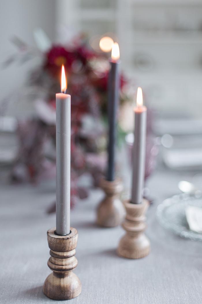 Kerzenstaender Holz