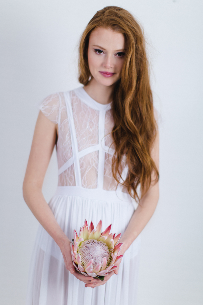 Spitzenkleid Weiß Braut (6)