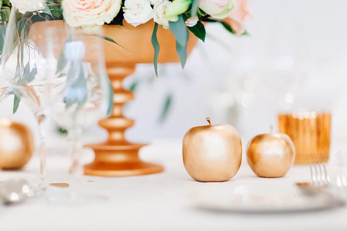 goldene Hochzeitsdeko (10)