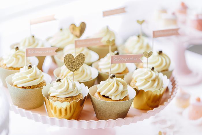 goldene cupcakes hochzeit (1)