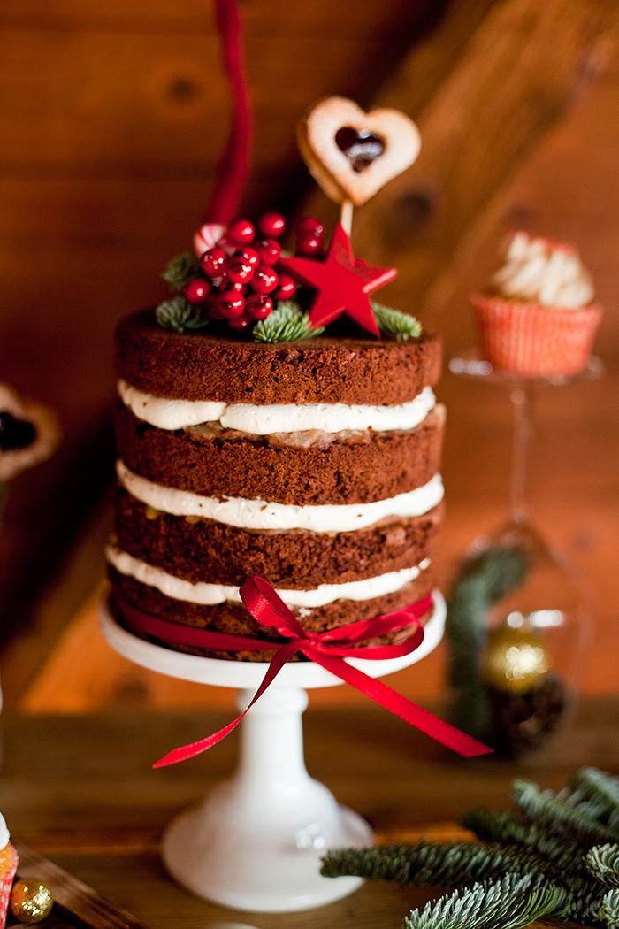 naked cake winterhochzeit