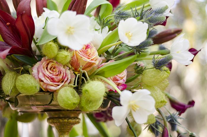 Blumendeko Hochzeit Hippie (15)