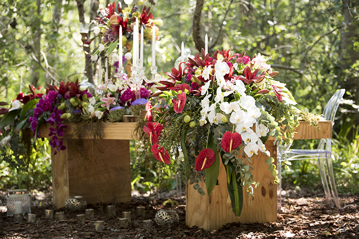 Blumendeko Hochzeit Hippie (17)