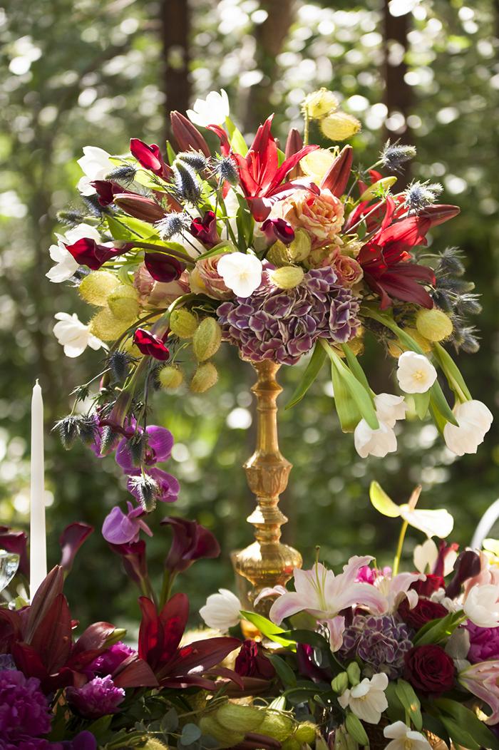Blumendeko Hochzeit Hippie (7)