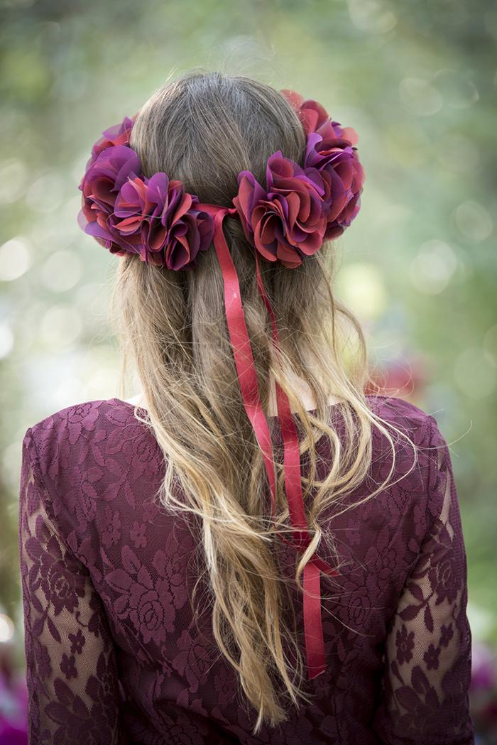 Blumenkranz in pink (30)