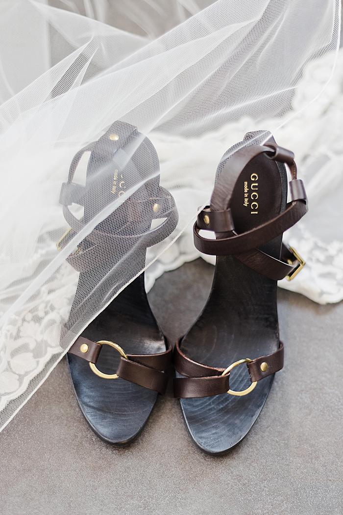 Braut Schuhe Gucci