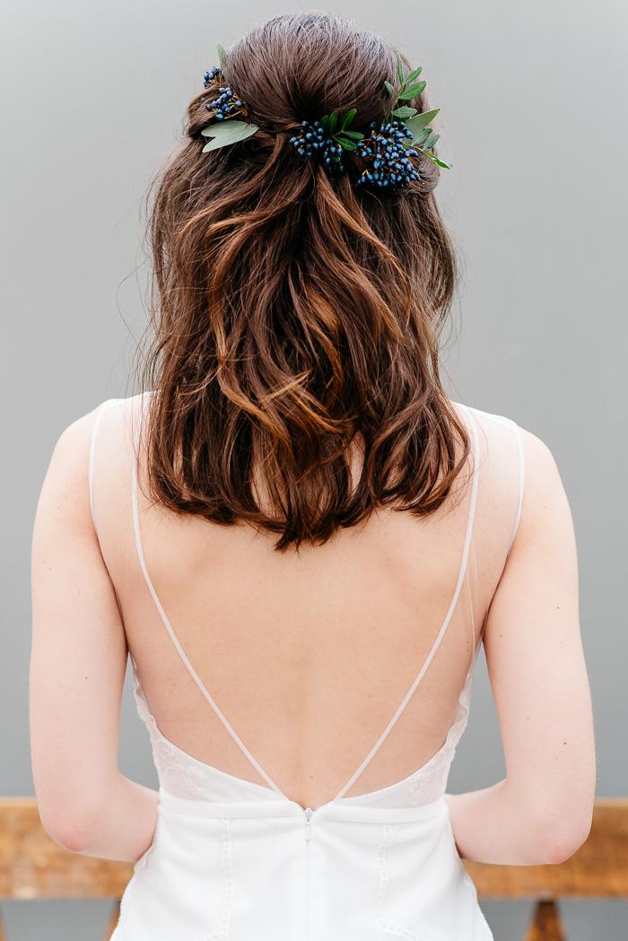 Brautkleid tiefer Ausschnitt