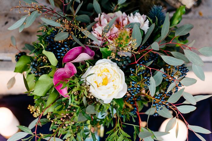 Brautstrauss mit Beeren