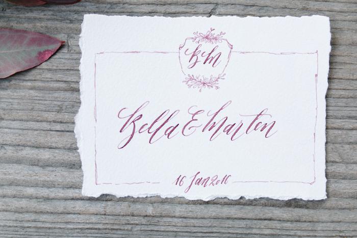 Hochzeitseinladung Kalligrafie (4)