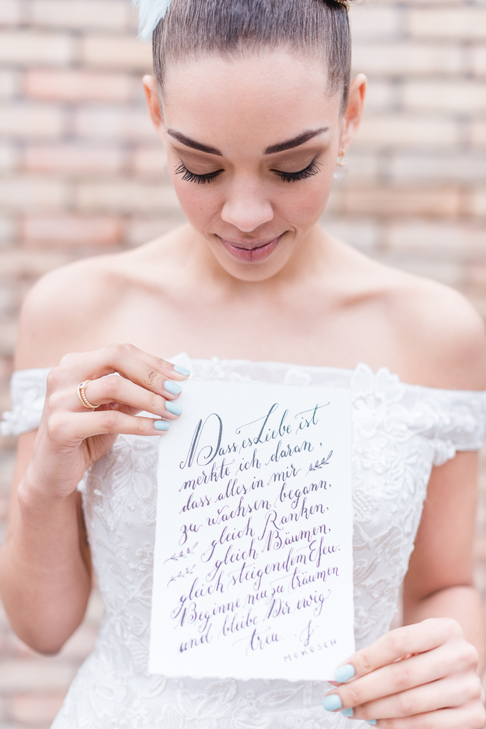 Kalligrafie Hochzeit