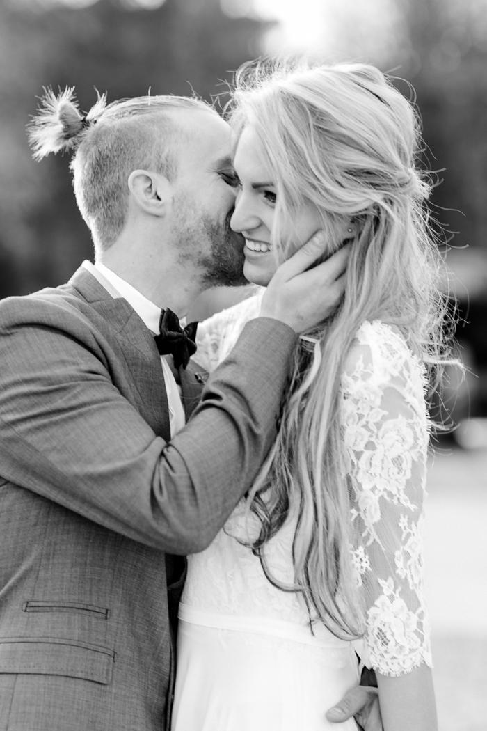 suesses Brautpaar