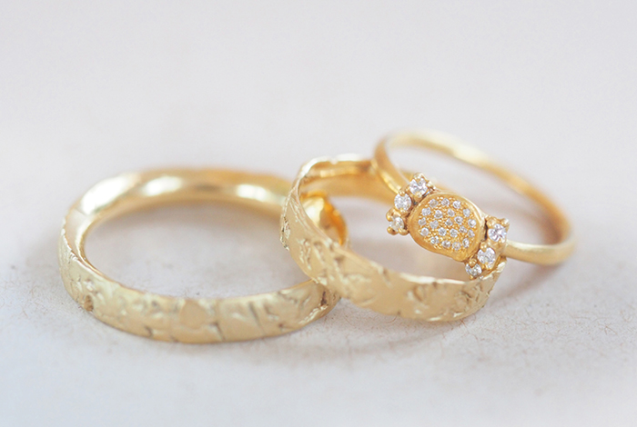 Eheringe aufbereitetes Gold (2)