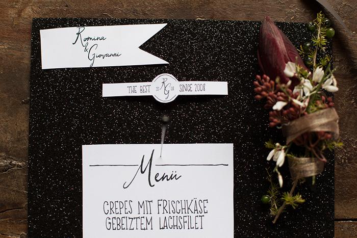 Einladungen Hochzeit schwarz (4)